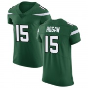 Men's Nike New York Jets Chris Hogan Gotham Green Vapor Untouchable Jersey - Elite