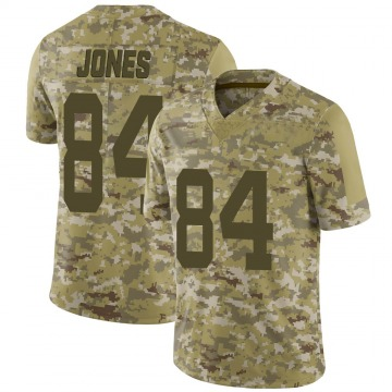 Men's New York Jets J.J. Jones Camo 2018 Salute to Service Jersey - Limited