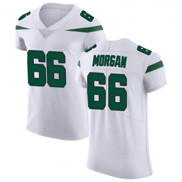 Men's Nike New York Jets Jordan Morgan Spotlight White Vapor Untouchable Jersey - Elite