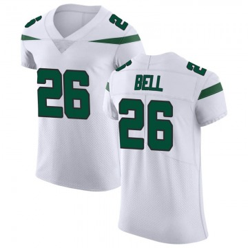 Men's Nike New York Jets Le'Veon Bell Spotlight White Vapor Untouchable Jersey - Elite