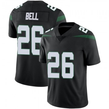 Men's Nike New York Jets Le'Veon Bell Stealth Black Vapor Jersey - Limited