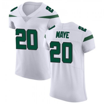 Men's Nike New York Jets Marcus Maye Spotlight White Vapor Untouchable Jersey - Elite