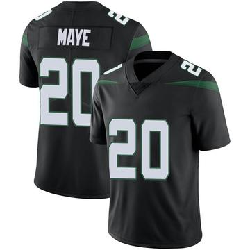 Men's Nike New York Jets Marcus Maye Stealth Black Vapor Jersey - Limited