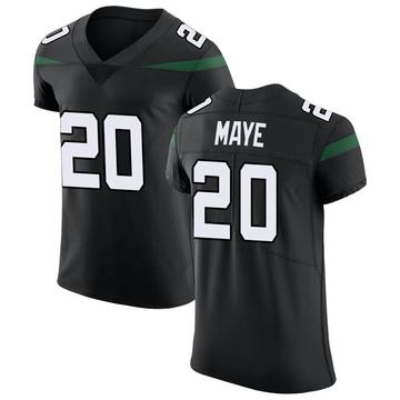 Men's Nike New York Jets Marcus Maye Stealth Black Vapor Untouchable Jersey - Elite