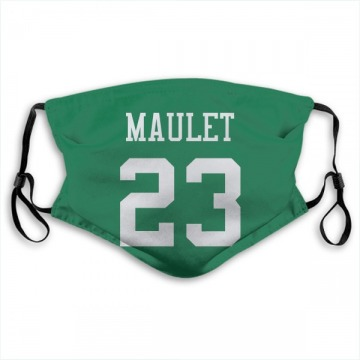 New York Jets Arthur Maulet Green Jersey Name & Number Face Mask