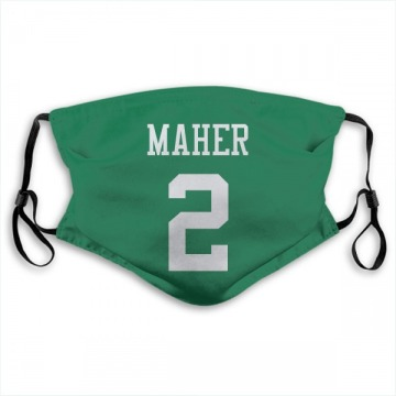 New York Jets Brett Maher Green Jersey Name & Number Face Mask
