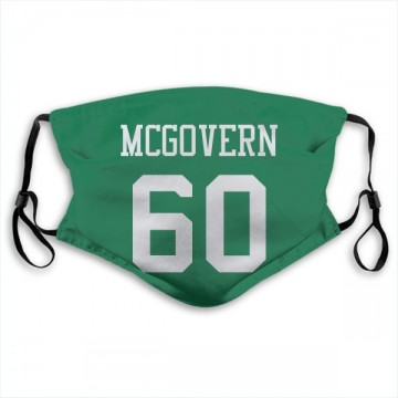 New York Jets Connor McGovern Green Jersey Name & Number Face Mask