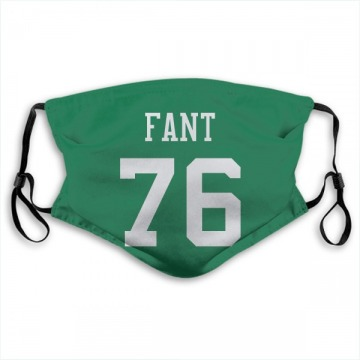 New York Jets George Fant Green Jersey Name & Number Face Mask