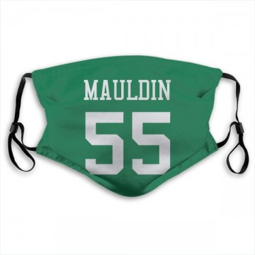 New York Jets Lorenzo Mauldin Green Jersey Name & Number Face Mask