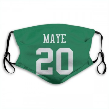 New York Jets Marcus Maye Green Jersey Name & Number Face Mask