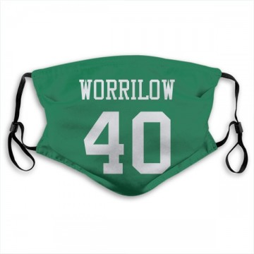 New York Jets Paul Worrilow Green Jersey Name & Number Face Mask