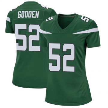 Women's Nike New York Jets Ahmad Gooden Gotham Green Jersey - Game