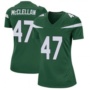 Women's Nike New York Jets Albert McClellan Gotham Green Jersey - Game