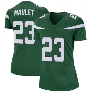 Women's Nike New York Jets Arthur Maulet Gotham Green Jersey - Game