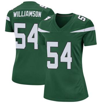 Women's Nike New York Jets Avery Williamson Gotham Green Jersey - Game