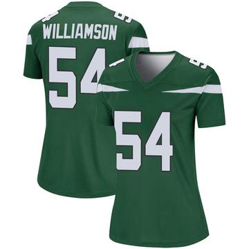 Women's Nike New York Jets Avery Williamson Gotham Green Player Jersey - Legend