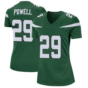 Women's Nike New York Jets Bilal Powell Gotham Green Jersey - Game