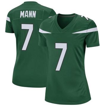 Women's Nike New York Jets Braden Mann Gotham Green Jersey - Game
