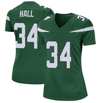 Women's Nike New York Jets Bryce Hall Gotham Green Jersey - Game