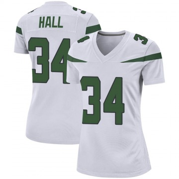 Women's Nike New York Jets Bryce Hall Spotlight White Jersey - Game