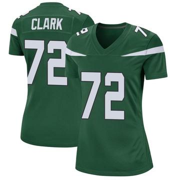 Women's Nike New York Jets Cameron Clark Gotham Green Jersey - Game