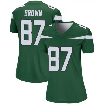 Women's Nike New York Jets Daniel Brown Gotham Green Player Jersey - Legend