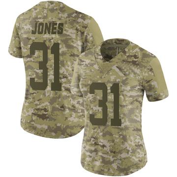 Women's Nike New York Jets Derrick Jones Camo 2018 Salute to Service Jersey - Limited