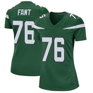 Women's Nike New York Jets George Fant Gotham Green Jersey - Game