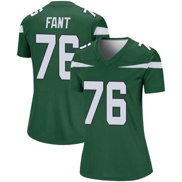Women's Nike New York Jets George Fant Gotham Green Player Jersey - Legend