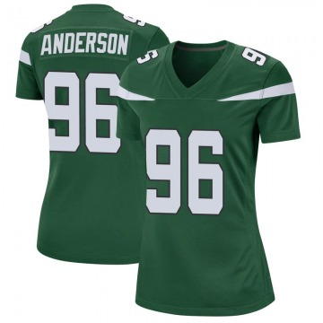 Women's Nike New York Jets Henry Anderson Gotham Green Jersey - Game