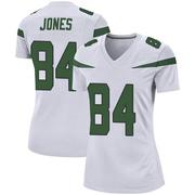 Women's Nike New York Jets J.J. Jones Spotlight White Jersey - Game