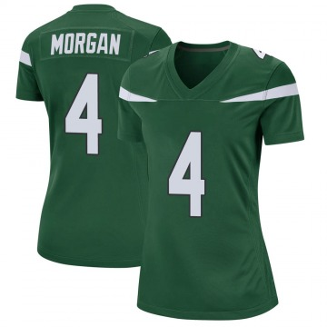 Women's Nike New York Jets James Morgan Gotham Green Jersey - Game