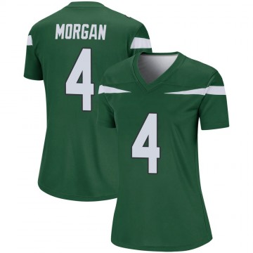 Women's Nike New York Jets James Morgan Gotham Green Player Jersey - Legend