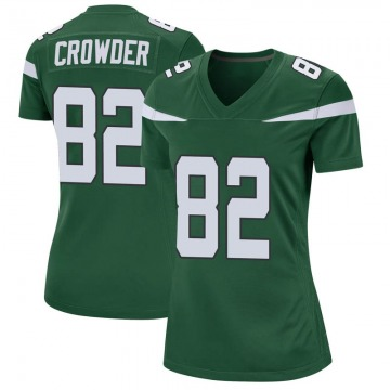 Women's Nike New York Jets Jamison Crowder Gotham Green Jersey - Game
