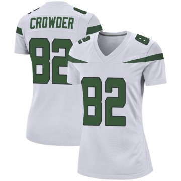 Women's Nike New York Jets Jamison Crowder Spotlight White Jersey - Game