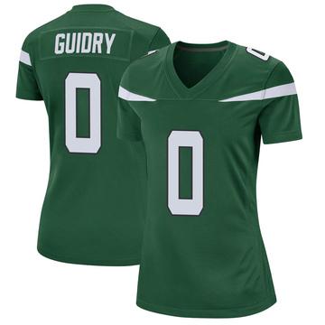Women's Nike New York Jets Javelin Guidry Gotham Green Jersey - Game