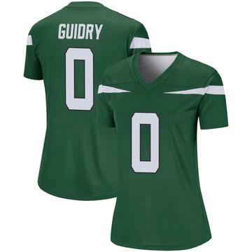 Women's Nike New York Jets Javelin Guidry Gotham Green Player Jersey - Legend