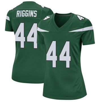 Women's Nike New York Jets John Riggins Gotham Green Jersey - Game