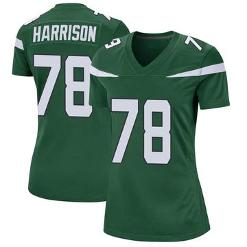 Women's Nike New York Jets Jonotthan Harrison Gotham Green Jersey - Game