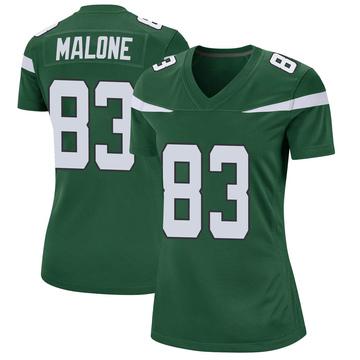 Women's Nike New York Jets Josh Malone Gotham Green Jersey - Game