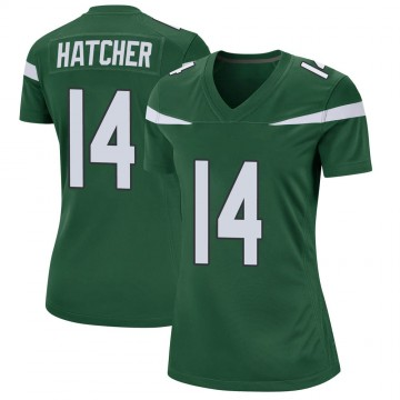 Women's Nike New York Jets Keon Hatcher Gotham Green Jersey - Game