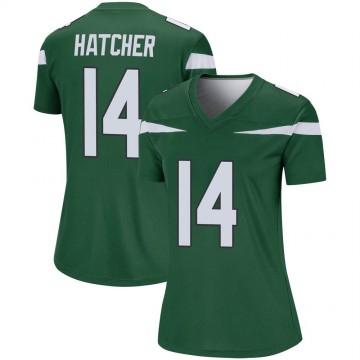 Women's Nike New York Jets Keon Hatcher Gotham Green Player Jersey - Legend