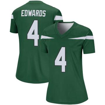 Women's Nike New York Jets Lachlan Edwards Gotham Green Player Jersey - Legend