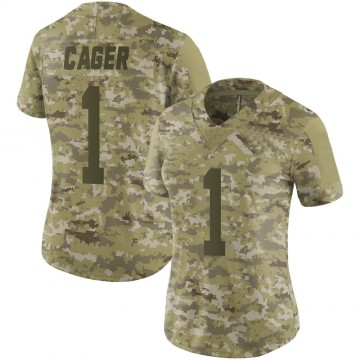 Women's Nike New York Jets Lawrence Cager Camo 2018 Salute to Service Jersey - Limited