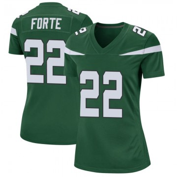 Women's Nike New York Jets Matt Forte Gotham Green Jersey - Game