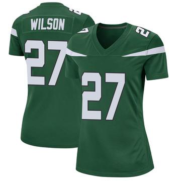 Women's Nike New York Jets Quincy Wilson Gotham Green Jersey - Game