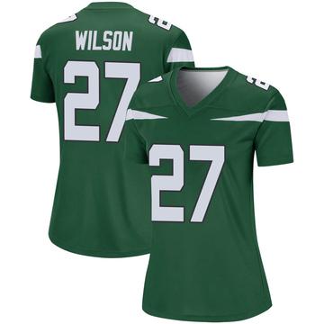 Women's Nike New York Jets Quincy Wilson Gotham Green Player Jersey - Legend
