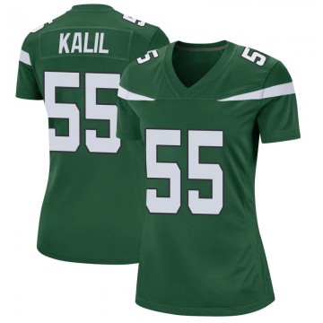 Women's Nike New York Jets Ryan Kalil Gotham Green Jersey - Game