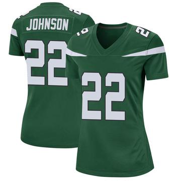Women's Nike New York Jets Trumaine Johnson Gotham Green Jersey - Game