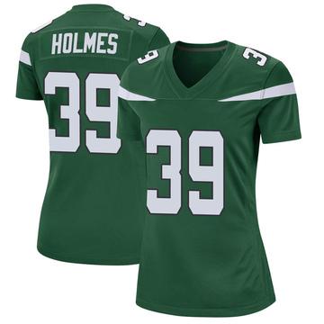 Women's Nike New York Jets Valentine Holmes Gotham Green Jersey - Game